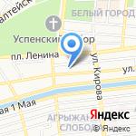 Двери-Сейл на карте Астрахани