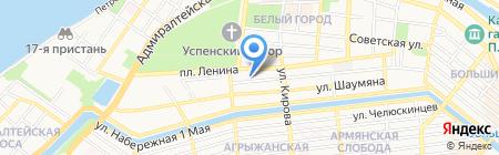 Инвестстрой на карте Астрахани