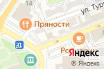 Схема проезда до компании Квартира в Астрахани