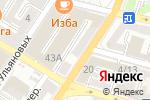 Схема проезда до компании Магазин линолеума и светотехники в Астрахани