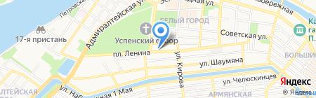 ДЮСШ им. Б.Г. Кузнецова на карте Астрахани