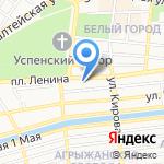 Робин Гуд на карте Астрахани