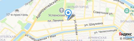 Адвокатский кабинет Алимовой Л.Д. на карте Астрахани