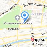 Организационный отдел управления делами Администрации г. Астрахани на карте Астрахани