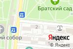 Схема проезда до компании Мозаика в Астрахани