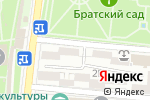 Схема проезда до компании Мишель в Астрахани