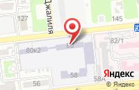 Схема проезда до компании Аккорд в Астрахани