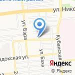 Советский районный отдел судебных приставов г. Астрахани на карте Астрахани