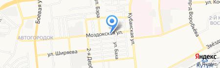 Цветное молоко на карте Астрахани