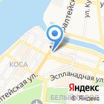Шевро на карте Астрахани