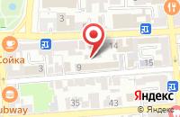 Схема проезда до компании Все для Вас-Курьер в Астрахани