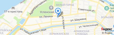 Все для Вас-Курьер на карте Астрахани