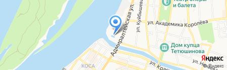 Спортивный центр морской и физической подготовки г. Астрахани на карте Астрахани