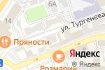 Схема проезда до компании Арт-Фитнес в Астрахани