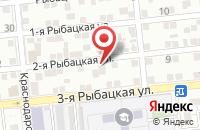 Схема проезда до компании ЛИМПОПО в Астрахани