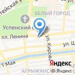 Батиста на карте Астрахани
