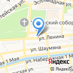 Контек-Нижняя Волга на карте Астрахани