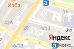 Схема проезда до компании Second Room в Астрахани