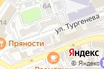 Схема проезда до компании Кроха в Астрахани