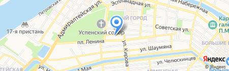ТН-Сервис на карте Астрахани
