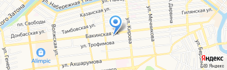 КопиПро на карте Астрахани