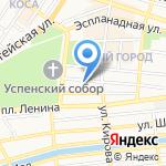Финансово-казначейское управление на карте Астрахани