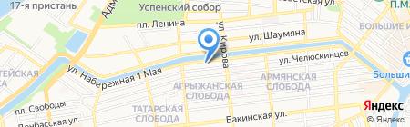Астра.нет на карте Астрахани