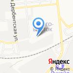 Участковый пункт полиции на карте Астрахани