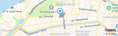 Управление земельными ресурсами Администрации г. Астрахани на карте Астрахани