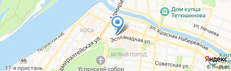 Fonbet на карте Астрахани