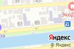Схема проезда до компании Профмастер в Астрахани