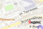 Схема проезда до компании Фонбет в Астрахани