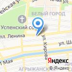 Управление муниципального имущества Администрации муниципального образования г. Астрахани на карте Астрахани