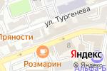Схема проезда до компании Шантель в Астрахани