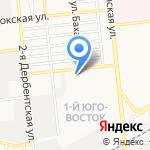 Начальная общеобразовательная школа №19 на карте Астрахани