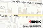 Схема проезда до компании Надежда в Астрахани