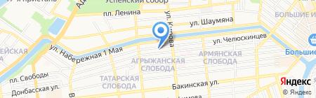 kaspyinfo.ru на карте Астрахани