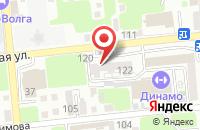 Схема проезда до компании Сокровище нации в Астрахани