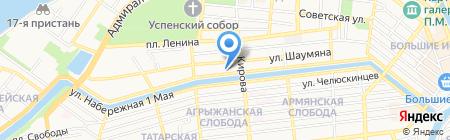 Мир бассейнов на карте Астрахани