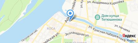 ТЕЛЕКОМ-СКИФ на карте Астрахани