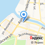 Консультант Астрахань на карте Астрахани