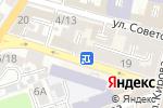 Схема проезда до компании Николь в Астрахани
