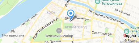 Сапфир на карте Астрахани