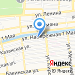 Министерство строительства и дорожного хозяйства Астраханской области на карте Астрахани