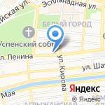 Фортуна-Тур на карте Астрахани
