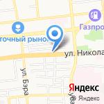 Магазин автозапчастей для ВАЗ на карте Астрахани