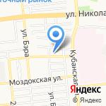АвтоГеометрия на карте Астрахани