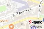 Схема проезда до компании VAGON в Астрахани