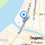 Консервативный коммерческий банк на карте Астрахани