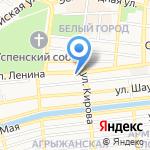 К чаю на карте Астрахани